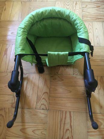 Cadeira de bebé desdobrável para comer