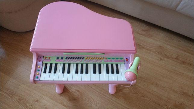 Fortepian pianino organy