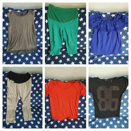 Zestaw ubrań ciążowych letnie ciążowe M/L