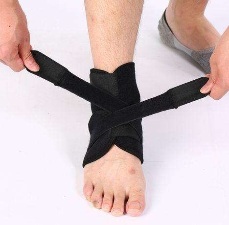 Бандаж для голеностопа/лодыжки эластичный голень ортопедический