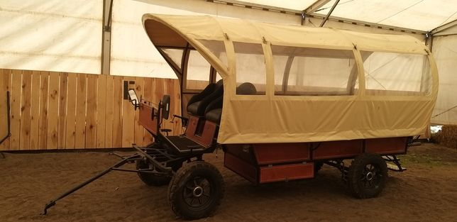 Wóz konny do przewozu osób Planwagen