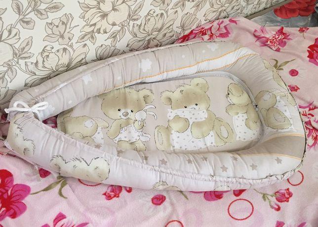 Кокон для новорожденого, гнездышко для малыша, подушка для кормления