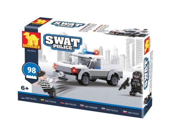 Klocki SWAT Policja Dla Dzieci 98 el Zabawka. Od ręki!!