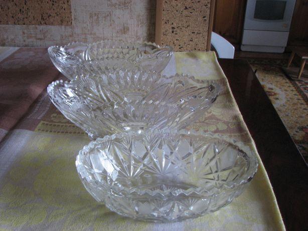 посуда - салатницы, хрусталь