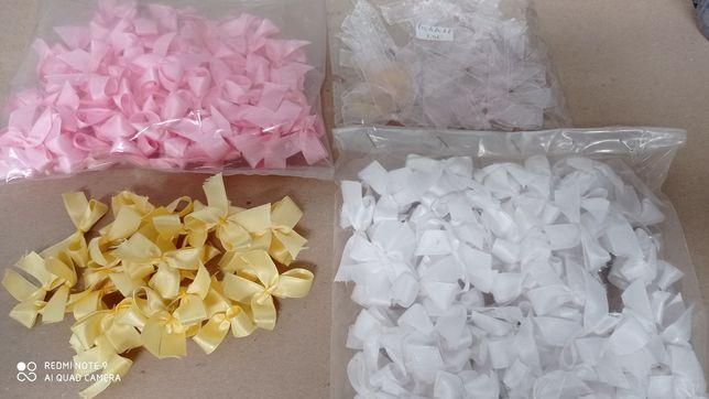 Laços Pequenos  Rosa ,Brancos Amarelos