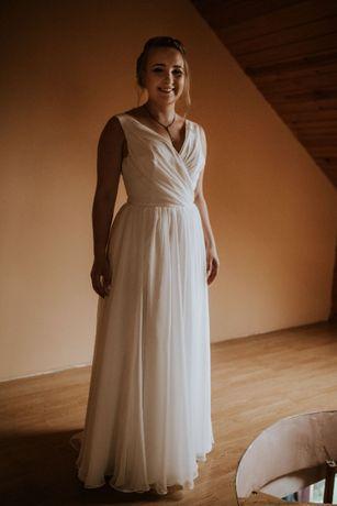 Suknia ślubna 38-42 kolor ivory