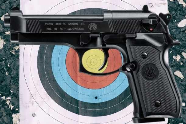 Pistolas CO2 Profissionais Desportivas Airsoft Novas De Fábrica 1/2