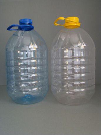5 литровые канистры пластмассовые,новые,из питьевой воды