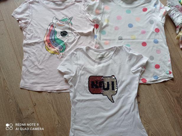 Bluzki, t-shirty, koszulki 134-140