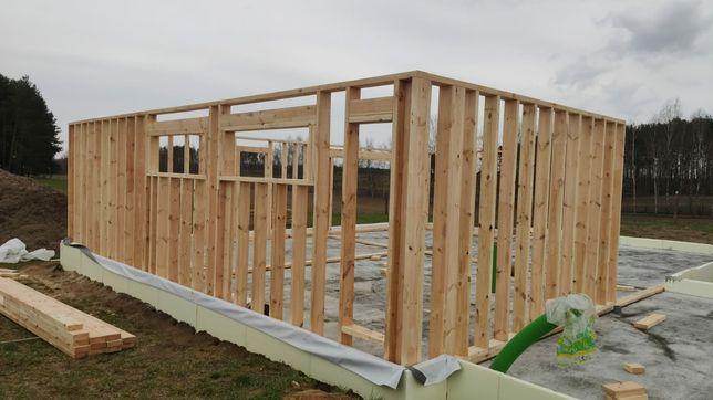 Budowa domów szkieletowych, wykończenia