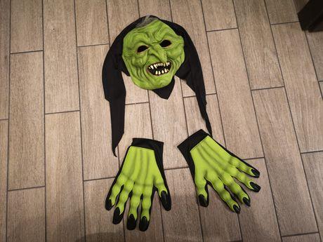 Maska czarownicy, czarownica, wiedźma