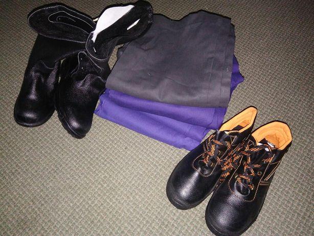 Рабочая одежда ботинки сапоги куртка штаны хб костюм хлопок