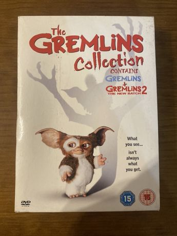 DVD Set Gremelins Collection 1 e 2