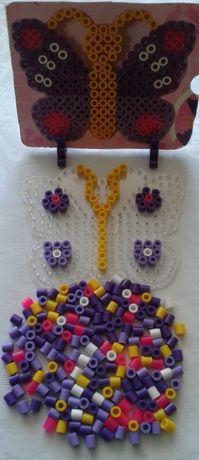 Motyl układanka koraliki mozaika zestaw kreatywny