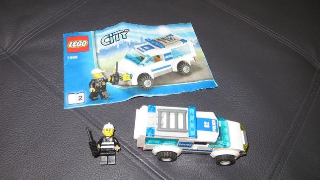 Конструктор Лего Lego гидросамолет, Lego City полицейская машина