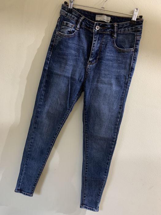 Ciemnoniebieskie jeansy Dobczyce - image 1