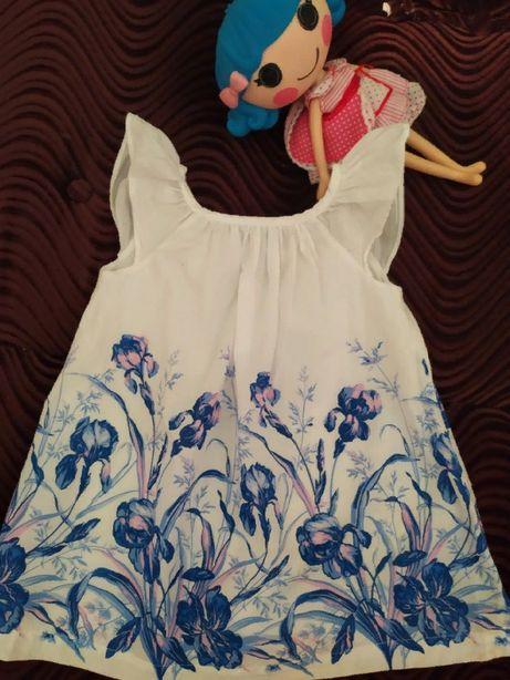 Ситцевое платье для модниць