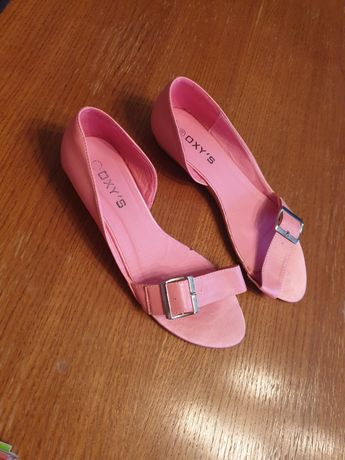 Jak Nowe różowe BALERINY balerinki różowe sandałki