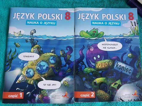 Jezyk polski nauka o języku GWO cz.1 i 2 klasa 8