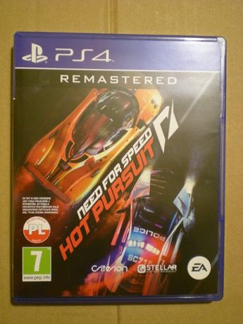Gra NFS Hot Pursuit PS4