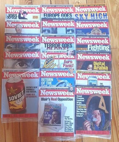 Newsweek w języku angielskim - 25 numerów