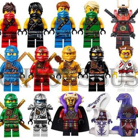 Lego ninjago zestaw edycja limitowana 15 figurek.