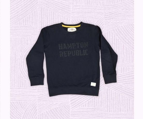 Bluza dla chłopca, granatowa Hampton r. 122-128, 7-8 lat