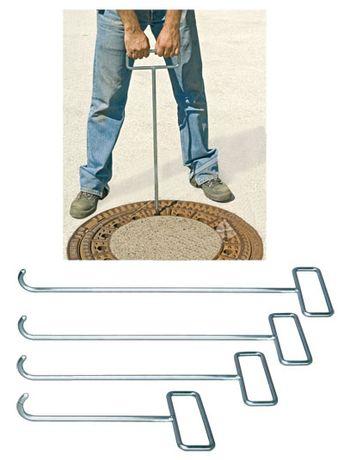 Ręczny hak do podnoszenia włazów 70 cm