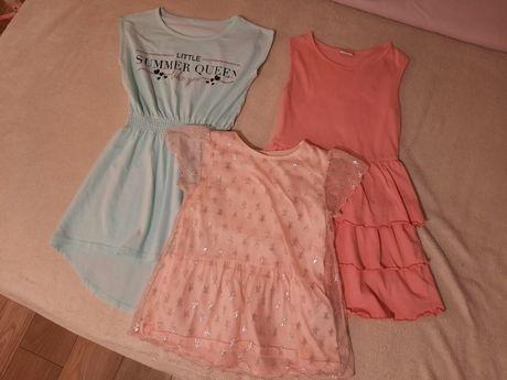 Ubrania dla dziewczynki 122