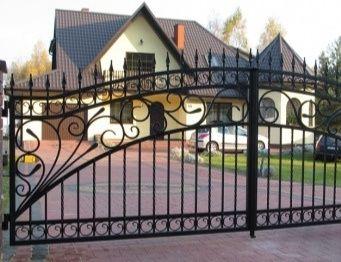 Ogrodzenia Balustrady Konstrukcje stalowe metal