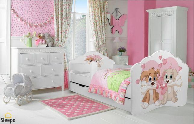 Łóżeczko dziecięce łóżko dziecięce 160x80 cm sleepo.pl