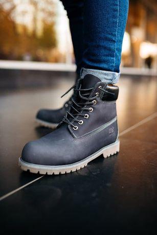 Зимние ботинки Timberland Серые ТЕРМО | Чоботи Тімберленд Зима | Киев