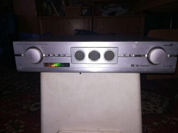 Philips amplituner  5.1 + Nagrywarka DVD