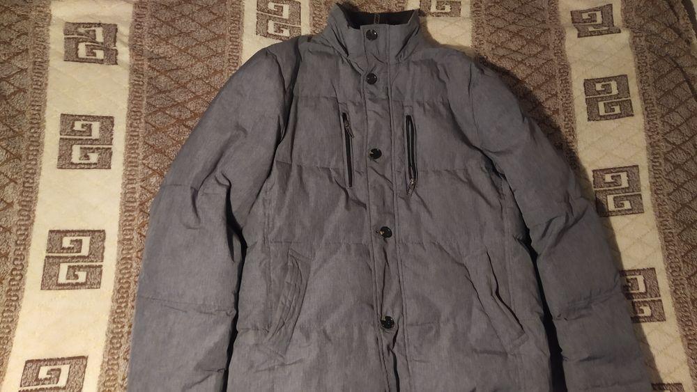 Куртка мужская пуховик зимний серого цвета Кривой Рог - изображение 1