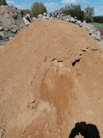 Zwir pasek ziemia podsyp Kamien tluczen
