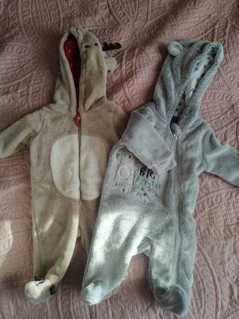 Kombinezon niemowlęcy x2