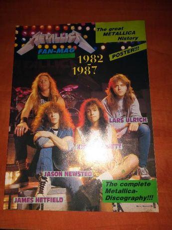 Metallica - Revista anos 80