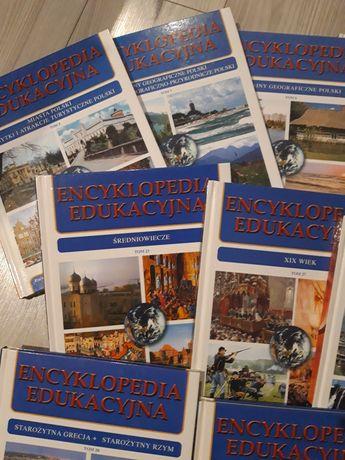 Zbiór tomów encyklopedii edukacyjnej