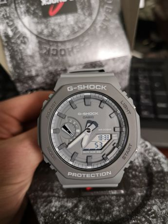 Годинник Casio G-Shock GA-2110 сірий Earth color