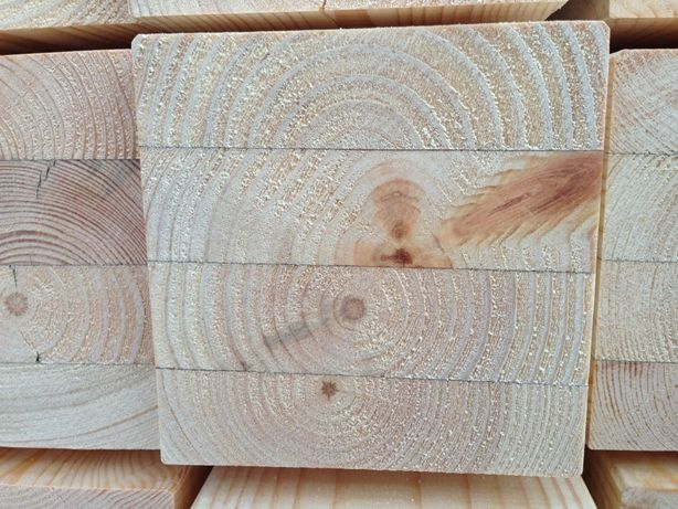 Krawędziak belka ecowood Polska 105*105 klejonka