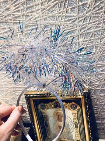 Обруч нимб ангела Новый карнавальный
