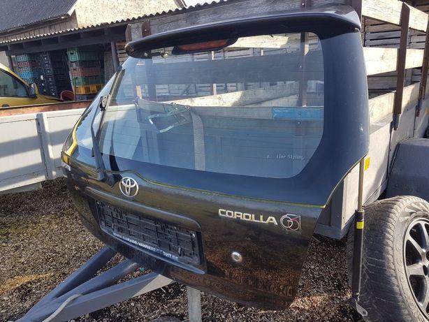 Klapa tył z lotką i blendą Corolla G6