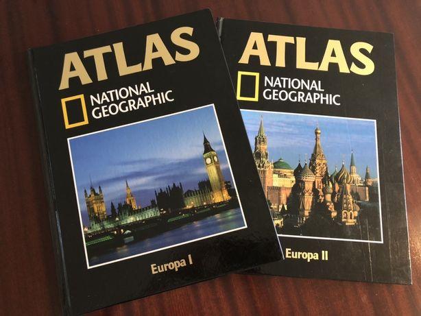 Atlas National Geografic 2 livros