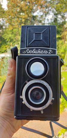 Zabytkowy aparat fotograficzny Lubitel
