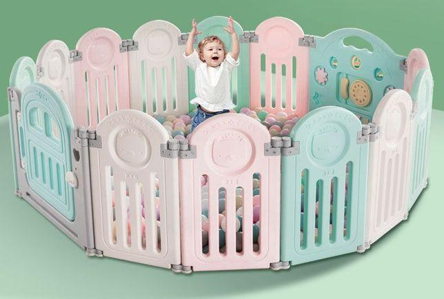Suchy basen Plac zabaw , kojec modułowy dla dziecka, basen na kulki