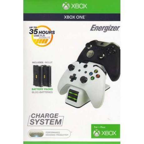 Зарядная станция XBOX ONE  Energizer 2X Charge System White + 2 акк