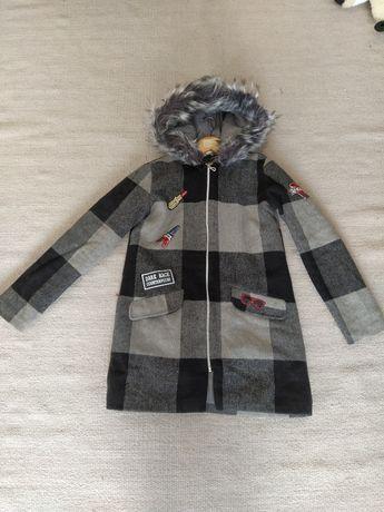 Пальто теплое на девочку