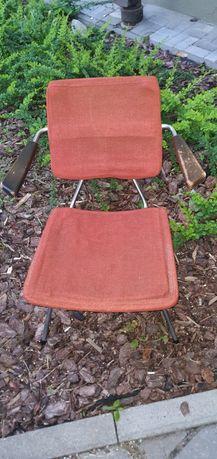 Krzesło Prl antyk