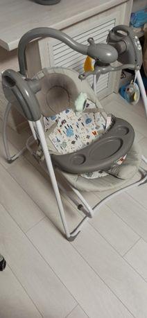 Кресло-качалка CARRELLO Grazia CRL-7502 lovely gray світло-сіра