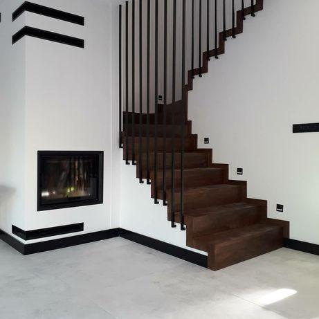 Balustrada loft industrial